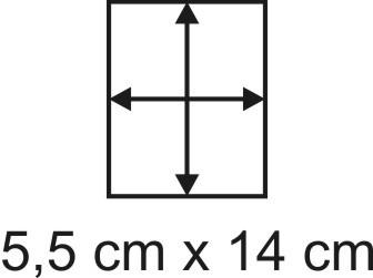 2mm Holzbase 5,5 x 14