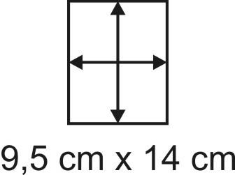 2mm Holzbase 9,5 x 14