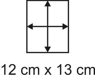 2mm Holzbase 12,5 x 13