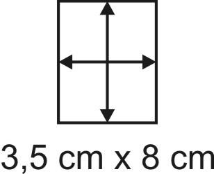 2mm Holzbase 3,5 x 8