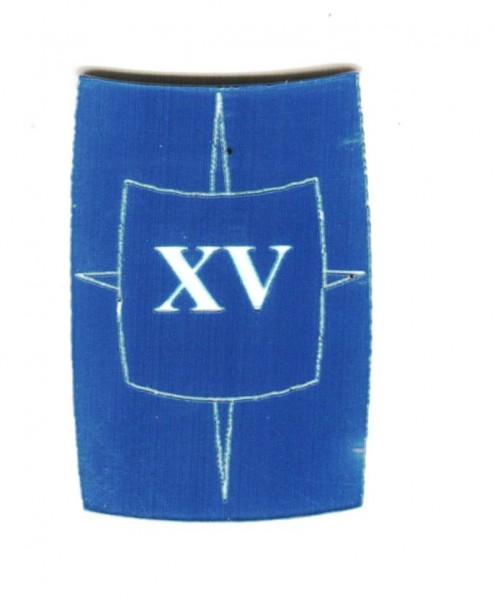 "Zahlenmarker Scuta ""15"", blau"