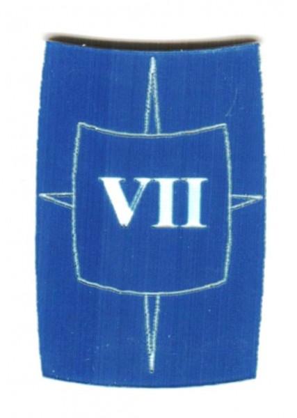 "Zahlenmarker Scuta ""7"", blau"