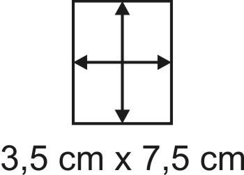 Eckbase 3,5x7,5 cm, 3mm dick