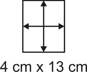 2mm Holzbase 4 x 13