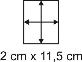 2mm Holzbase 2 x 11,5