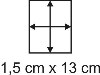 Eckbase 1,5x13 cm, 3mm dick