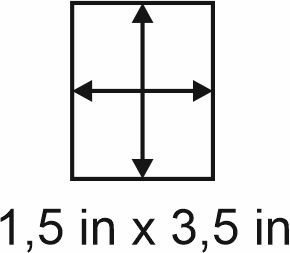 2mm zöllige Holzbase 1,5 x 3,5