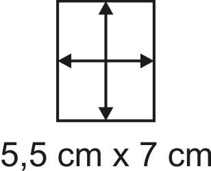 2mm Holzbase 5,5 x 7