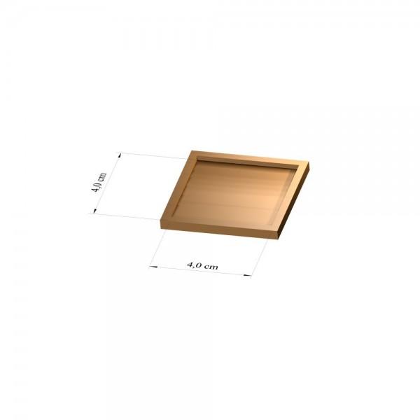 Tray 4 cm x 4 cm, 3mm