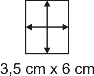 Eckbase 3,5x6 cm, 3mm dick