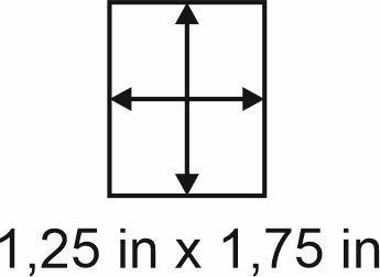 3mm zöllige Holzbase 1,25 x 1,75