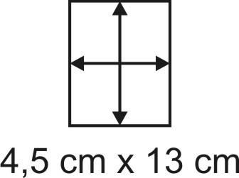 2mm Holzbase 4,5 x 13