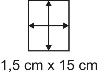 2mm Holzbase 1,5 x 15