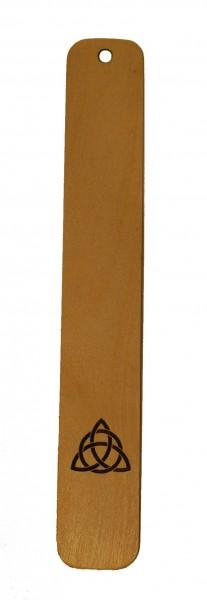 Lesezeichen Trinity2 aus Holz