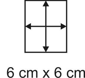 2mm Holzbase 6x 6