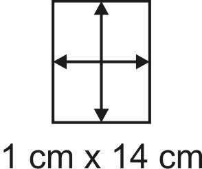 2mm Holzbase 1 x 14