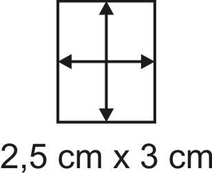 3mm Holzbase 2,5 x 3
