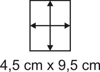 2mm Holzbase 4,5 x 9,5