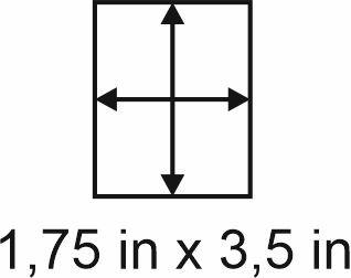3mm zöllige Holzbase 1,75 x 3,5