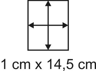 Eckbase 1x14,5 cm, 3mm dick