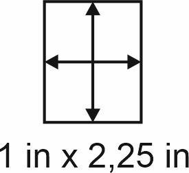 2mm zöllige Holzbase 1 x 2,25
