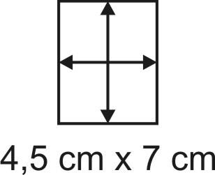 2mm Holzbase 4,5 x 7