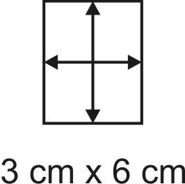 3mm Holzbase 3 x 6