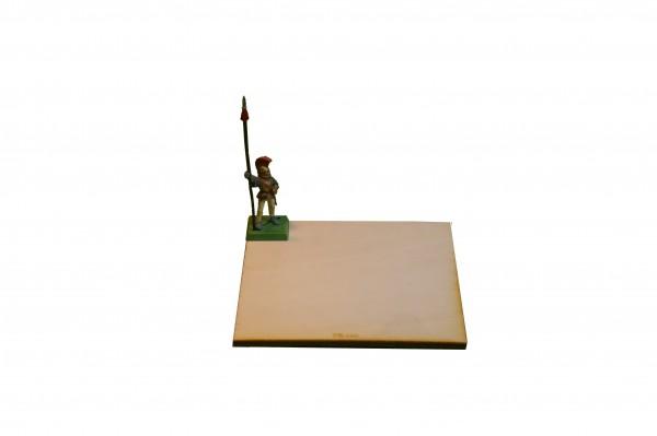 Regimentsbase 10,0 x 10,0