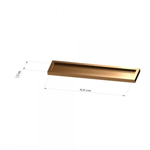 Tray 1,5 cm x 9 cm, 2mm