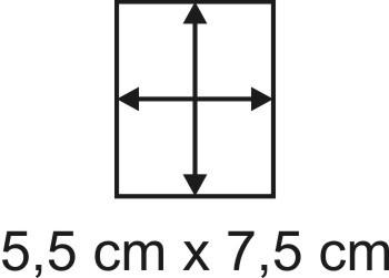 2mm Holzbase 5,5 x 7,5