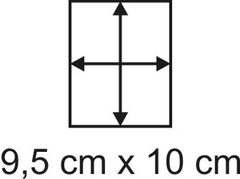 2mm Holzbase 9,5 x 10