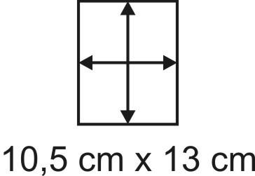 3mm Holzbase 10,5 x 13