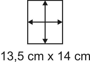 2mm Holzbase 13,5 x 14