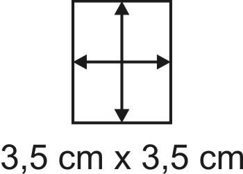 Eckbase 3,5x3,5 cm, 3mm dick
