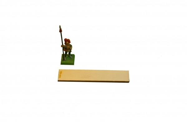 Regimentsbase 2,0 x 10,0