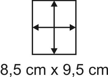 2mm Holzbase 8,5 x 9,5