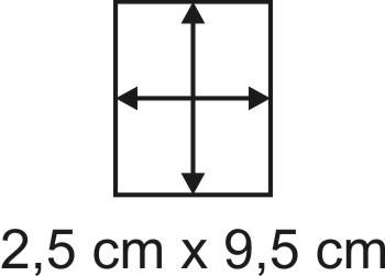 2mm Holzbase 2,5 x 9,5