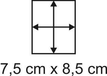 3mm Holzbase 7,5 x 8,5