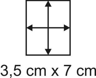 Eckbase 3,5x7 cm, 3mm dick