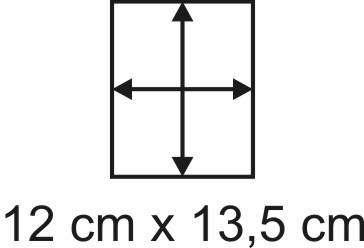 2mm Holzbase 12,5 x 13,5
