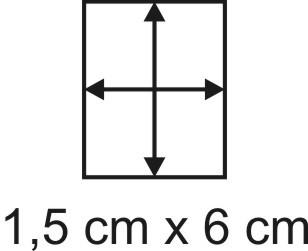 Eckbase 1,5x6 cm, 3mm dick