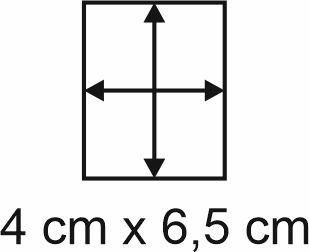 Eckbase 4x6,5 cm, 3mm dick