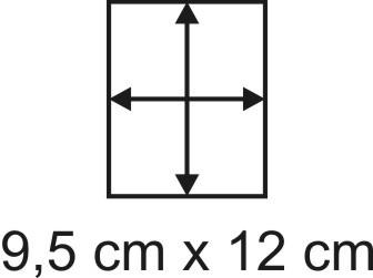 2mm Holzbase 9,5 x 12