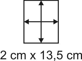 2mm Holzbase 2 x 13,5