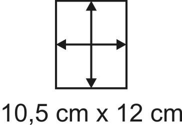 2mm Holzbase 10,5 x 12