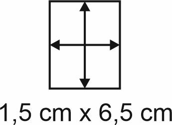Eckbase 1,5x6,5 cm, 3mm dick