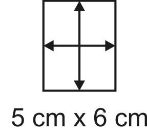 3mm Holzbase 5x 6