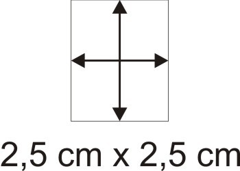 Holzbase 2,5 x 2,5