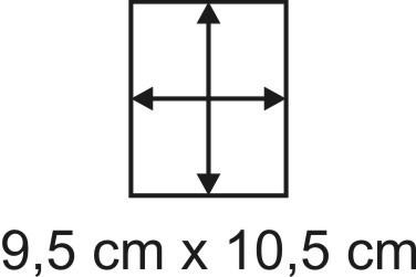 3mm Holzbase 9,5 x 10,5