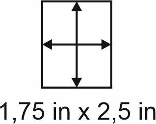 3mm zöllige Holzbase 1,75 x2,5